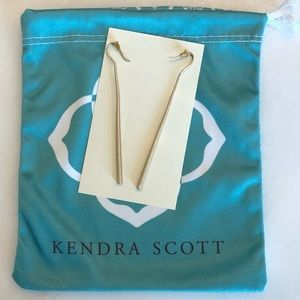 Kendra Scott Gold Pendant Earrings